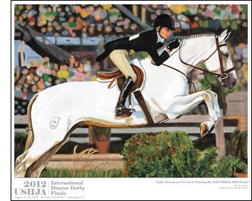 2011 International Hunter Derby Poster